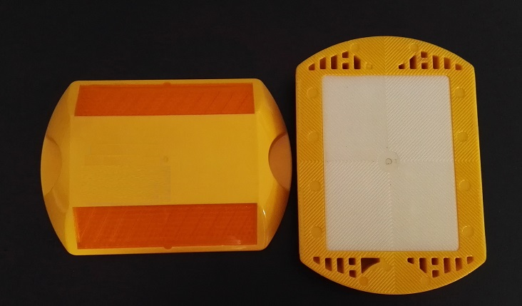 Rectangle Plastic Road Markers