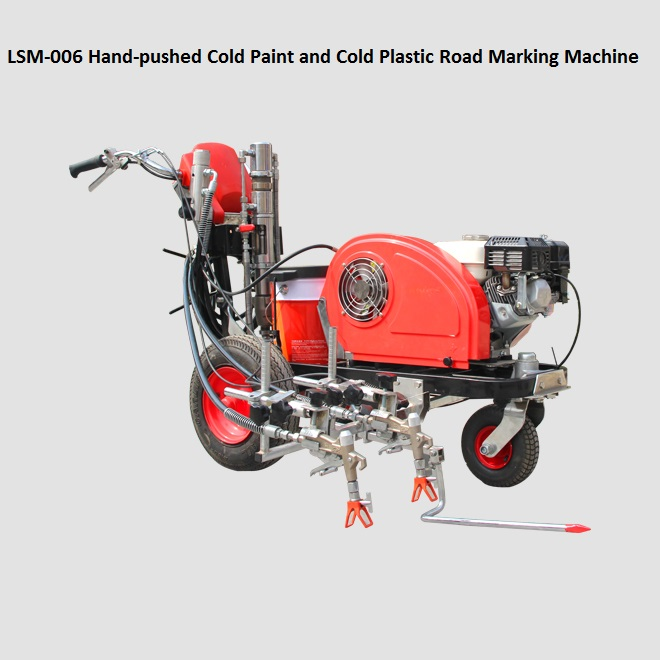 Cold Paint Road Marking Machines
